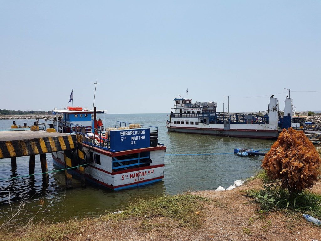 """Ferry To Ometepe <img src=""""images/"""" width=""""800"""" height=""""600"""" alt=""""ometepe - 18493455 10154422113085636 1683832478 o 1 1024x768 - Nicaragua: The Corn Islands To Ometepe (Without Flying)"""">"""