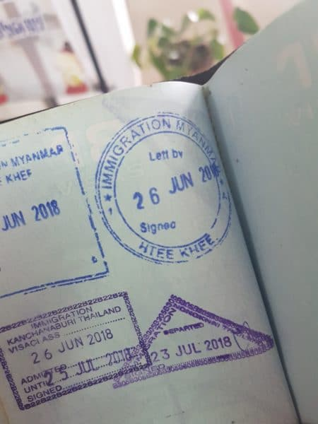 """Stamp collectors <img src=""""images/"""" width=""""800"""" height=""""600"""" alt=""""chiang mai to vientiane border crossing - 20180723 0935338210834543670115985 e1546433834445 - How To: Chiang Mai to Vientiane Thai-Laos Border Crossing"""">"""