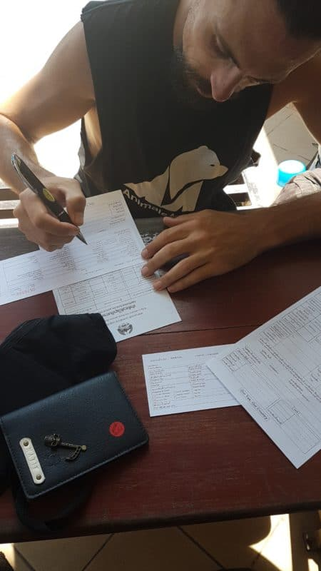 """Thai - Laos immigration forms <img src=""""images/"""" width=""""800"""" height=""""600"""" alt=""""chiang mai to vientiane border crossing - wp 1546431507046 e1546435293252 - How To: Chiang Mai to Vientiane Thai-Laos Border Crossing"""">"""